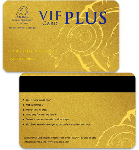 VIF Card