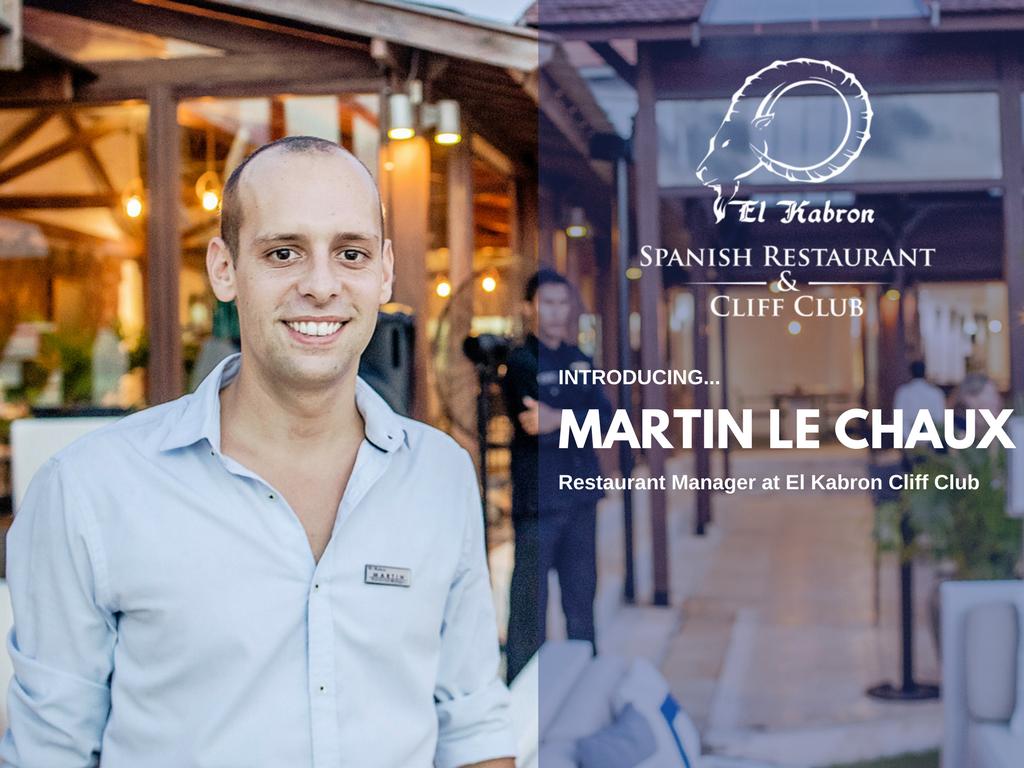 Martin Le Chaux - Restaurant Manager